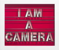 I am a Camera by Mary-Louise Browne contemporary artwork sculpture