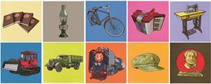 On the Origin of the Species No. 1-8 by Li Bangyao contemporary artwork