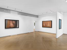 "Group Exhibition<br><em>Hans Hartung and Art Informel</em><br><span class=""oc-gallery"">Mazzoleni</span>"