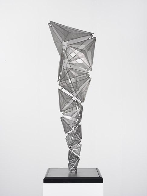 Paradigm Optic (Stainless) by Conrad Shawcross contemporary artwork