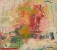 Summer Heat by Chloë Lamb contemporary artwork painting, works on paper