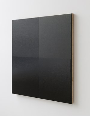 A Whole and Two Halves (black) by Simon Morris contemporary artwork