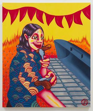 It Tastes Better Burnt by Zoé Blue M. contemporary artwork