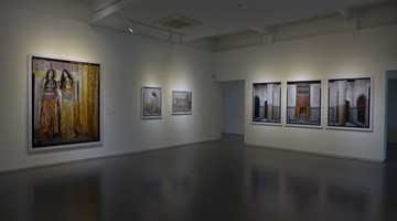 Contemporary art exhibition, Lalla Essaydi, Truth and Beauty at Sundaram Tagore Gallery, Singapore
