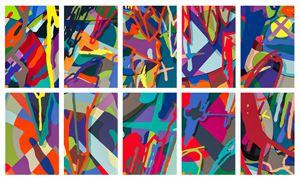 Tension (Portfolio of Ten Prints) by KAWS contemporary artwork