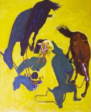 Cavalli (2) by Norbert Tadeusz contemporary artwork