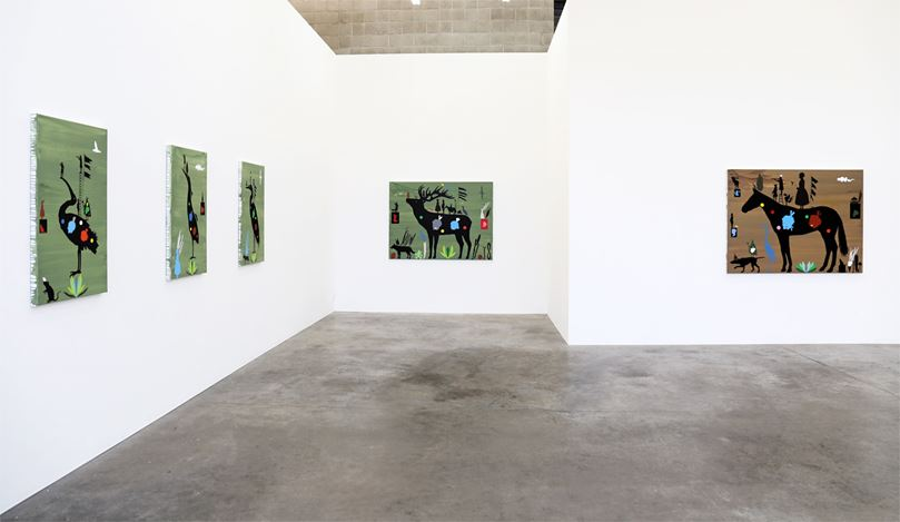 Exhibition view: Chris Heaphy, The Floating World, Jonathan Smart Gallery (28 March–22 April 2017). Courtesy Jonathan Smart Gallery.