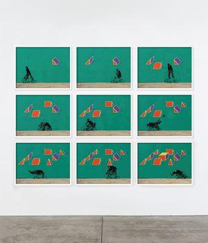 Frustum by Robin Rhode contemporary artwork