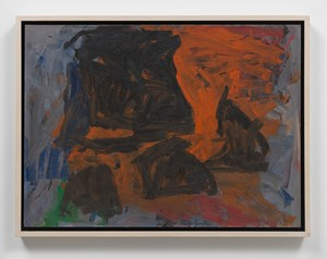 The Light by Philip Guston contemporary artwork