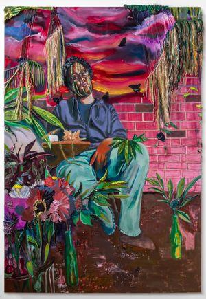 Geftao Koróson-ña (Their Generous Heart) by Gisela McDaniel contemporary artwork