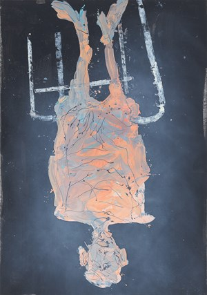 Herr Kraut by Georg Baselitz contemporary artwork