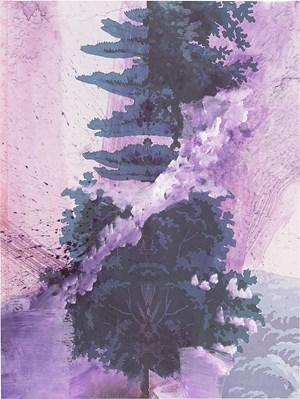 Walt Whitman (Frozen Lake) by Julian Schnabel contemporary artwork