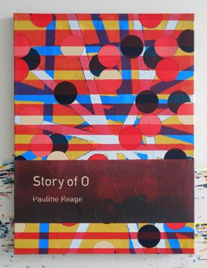 Story of O / Pauline Réage by Heman Chong contemporary artwork