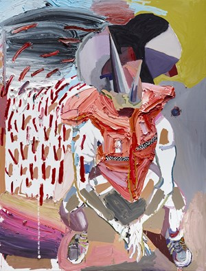 The Crossing by Ben Quilty contemporary artwork