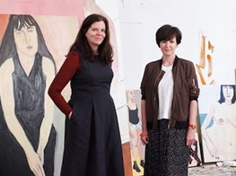 'Painting is a high-wire act': Olivia Laing on sitting for the artist Chantal Joffe