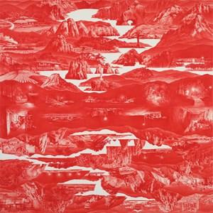 Between Red by Lee Sanghyun contemporary artwork
