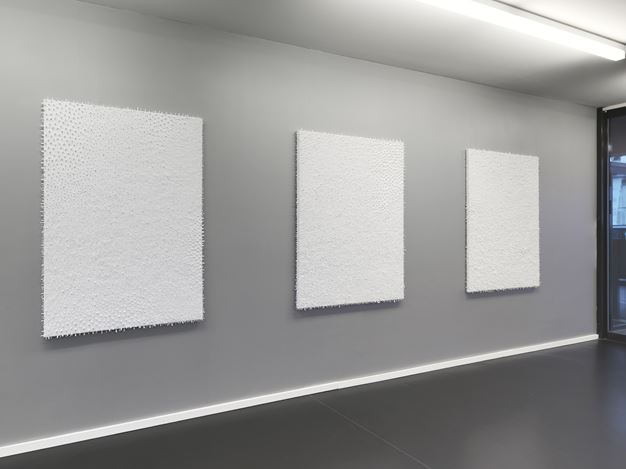 Exhibition view: Lars Christensen, Black/White/White/Black, Anne Mosseri-Marlio Galerie, Basel(17 January–28 February 2015). Courtesy Anne Mosseri-Marlio Galerie.