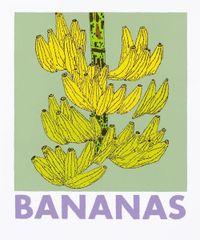 Bananas by Jonas Wood contemporary artwork print