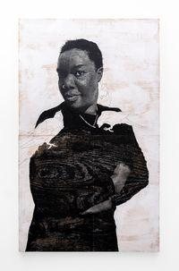 Luyanda, teti uletina inama mpaka nempela. (Luyanda, you cant be afraid of animals forever.) by Luyanda Zindela contemporary artwork painting, drawing