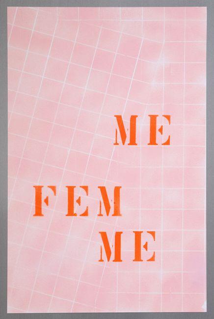 Me Fem by Monica Bonvicini contemporary artwork