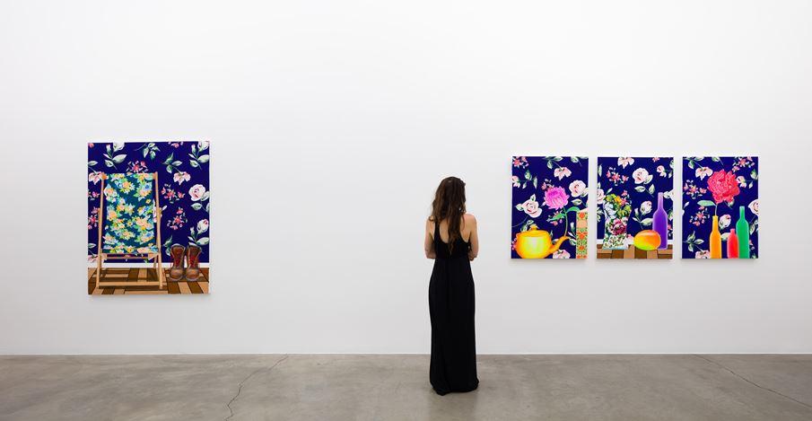 Exhibition view: Alec Egan, August, Anat Ebgi, Los Angeles (11 July–5 September 2020). Courtesy Anat Ebgi.