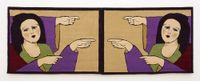 Carpets on the theme of Promised Paintings by Gülsün Karamustafa contemporary artwork textile