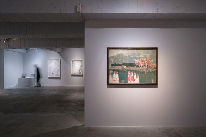 Wu Tseng Jung, Mount Slvania (1995). Watercolour on paper, 108.9 x 78.8 cm. Courtesy Mind Set Art Center, Taipei.