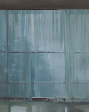 내 안의 창 - 커튼이 있는 풍경 4 by Park Kyung-A contemporary artwork
