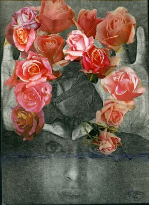 Bouquet by Penny Slinger contemporary artwork
