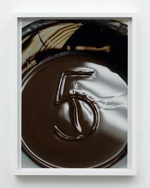 Chocolate Number by Torbjørn Rødland contemporary artwork