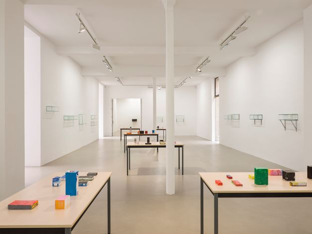 Exhibition view: Henrik Olesen, 6 or 7 new works, Galerie Chantal Crousel, Paris (28 April– 27 May 2018). Courtesy Galerie Chantal Crousel. Photo: Florian Kleinefenn.