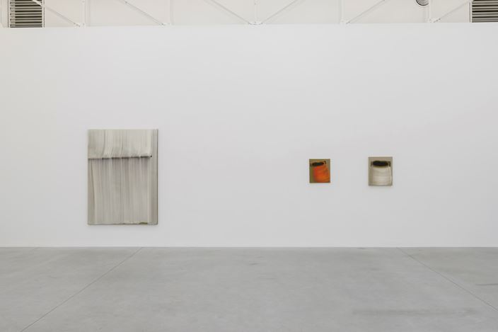 Exhibition view: Hyun-Sook Song, The single brushstroke as a horizon between heaven and earth, Zeno X Gallery (30 October–14 December 2019). Courtesy Zeno X Gallery. Photo: Peter Cox.