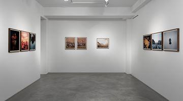 Contemporary art exhibition, Gregory Halpern, Omaha Sketchbook at Huxley-Parlour, London
