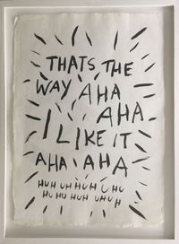 oh thats the way by Eva von Platen contemporary artwork painting, works on paper, drawing