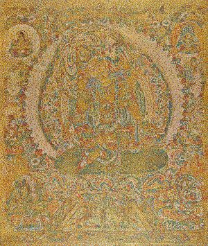 CMYK - Tang dynasty/ the Bodhisattva Ruyilun Guanyin by Yang Mian contemporary artwork