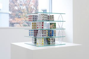 Shelving Unit (3D Puzzles) by Patrick Jackson contemporary artwork