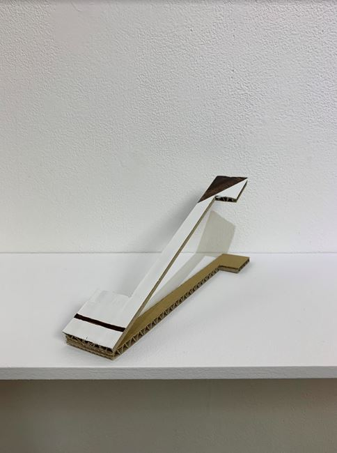 Sloping Sculpture #14 by Tomii Motohiro contemporary artwork