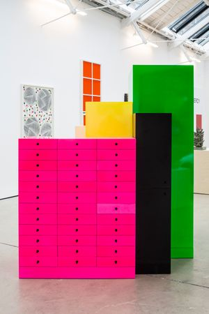 Omaggio 3 by Ettore Sottsass contemporary artwork sculpture