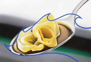 I once bought tortellini online by Stefano Perrone contemporary artwork