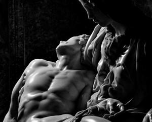 The Pieta, Michelangelo. Saint Peter's Basilica, Rome 1998 by Aurelio Amendola contemporary artwork