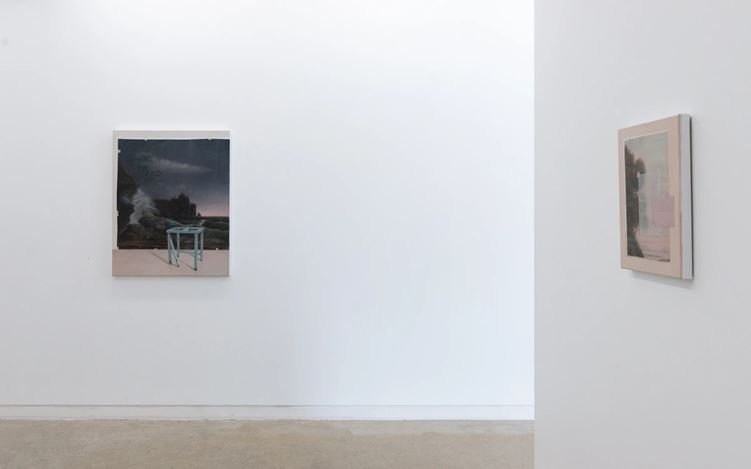 Exhibition view: Emily Wolfe, Vanishing Point, PAGE Galleries, Wellington (04 February–27 February 2021). Courtesy PAGE Galleries.