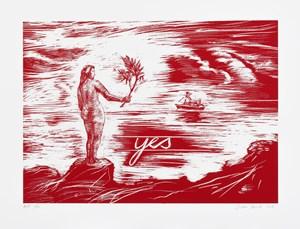 Yes by Juan Dávila contemporary artwork