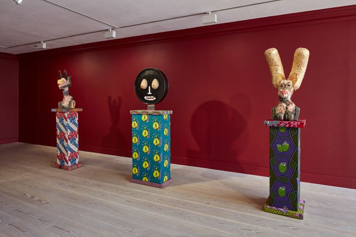 Exhibition view: James Ostrer, Johnny Just Came, Gazelli Art House, London (8 June–28 July 2018). Courtesy Gazelli Art House.