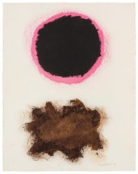 Untitled, #30 by Adolph Gottlieb contemporary artwork painting, works on paper