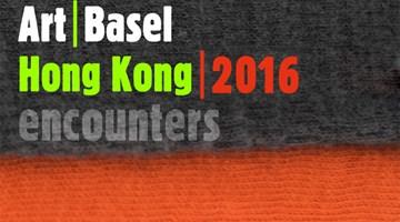 Contemporary art art fair, Encounters | Art Basel Hong Kong 2016 at Kukje Gallery, Seoul, South Korea