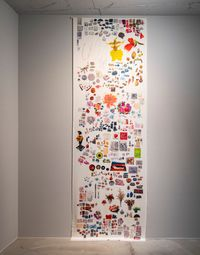 Arrangement (490 flowers, 67 A. Mabini) by Lesley-Anne CAO contemporary artwork print