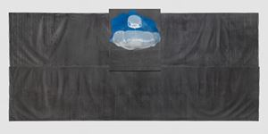 Stream-Pompidou by Takesada Matsutani contemporary artwork