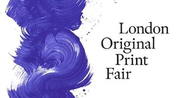 Contemporary art exhibition, The London Original Print Fair 2019 at Galerie Lelong & Co. Paris, 13 Rue de Téhéran, Paris