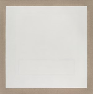 White Rectangle Within White Rectangle I by Danica Firulovic contemporary artwork
