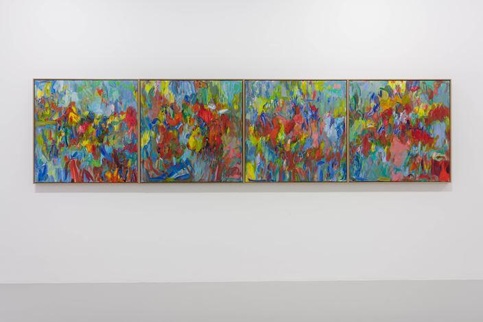 Exhibition view: Sabine Moritz, Mercy, Pilar Corrias, London (28 January–15 May 2021). Courtesy Pilar Corrias.